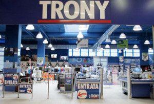 trony negozio