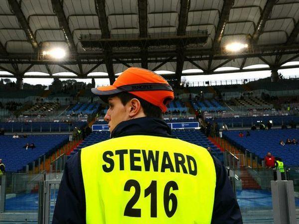 steward stadio roma olimpico