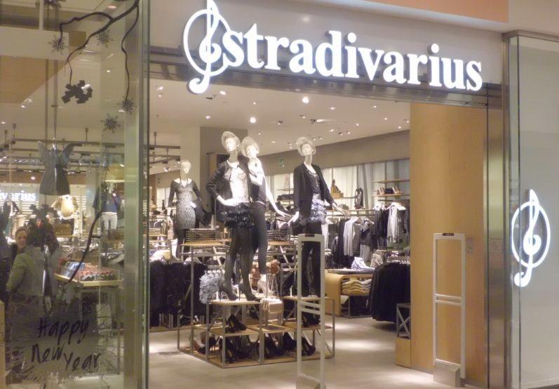negozio stradivarius lavoro