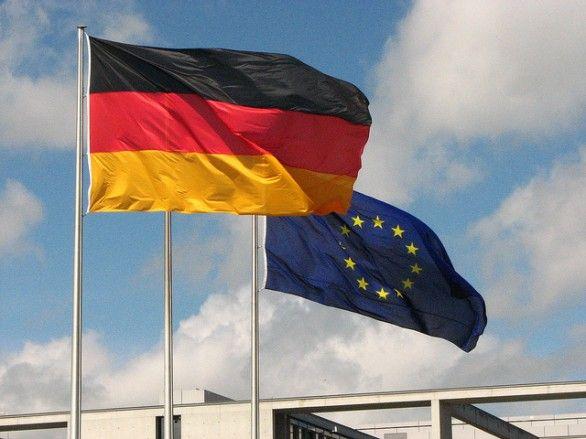 bandiera germania europa