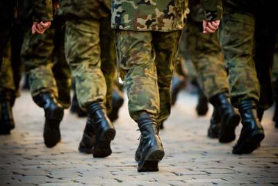 esercito lavoro