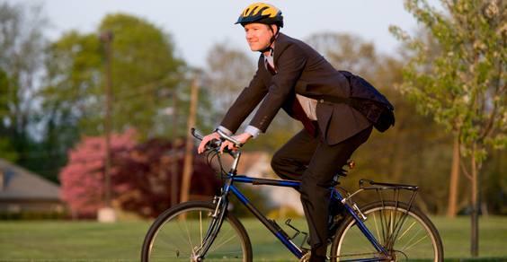 lavoro in bicicletta