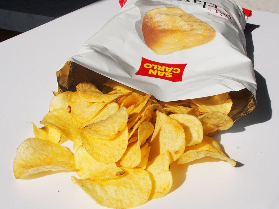 patatine san carlo aperte lavoro