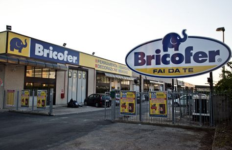 bricofer punto vendita