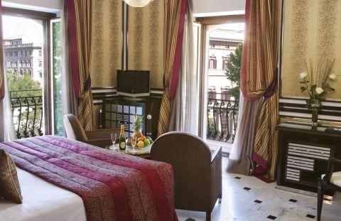 hotel regina baglioni roma