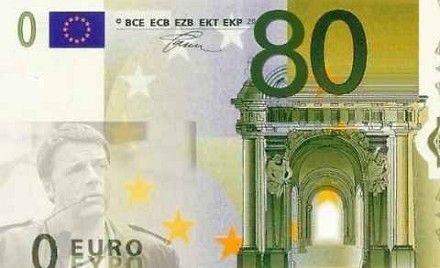 80 euro busta paga