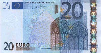 20 euro falsi