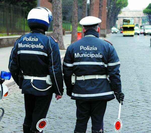 lavoro vigili urbani