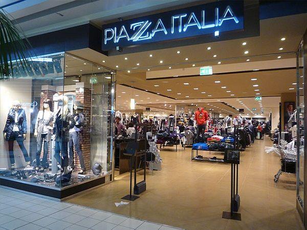 piazza italia negozio