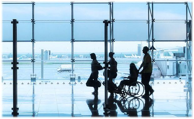 assistenza disabili aeroporto