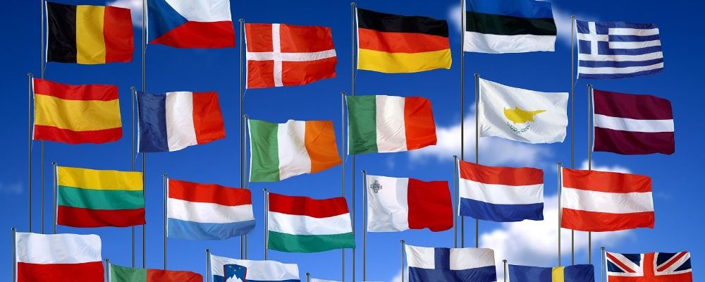 bandiere estero europa