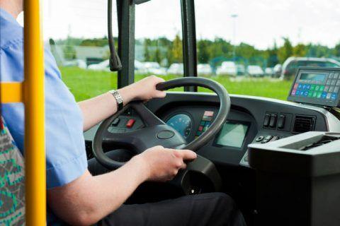 lavoro conducente autobus