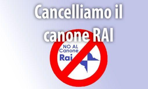 stop canone rai