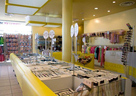 golden lady negozio lavoro