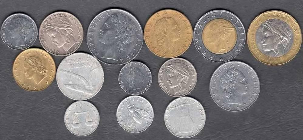 monete rare lire italiane