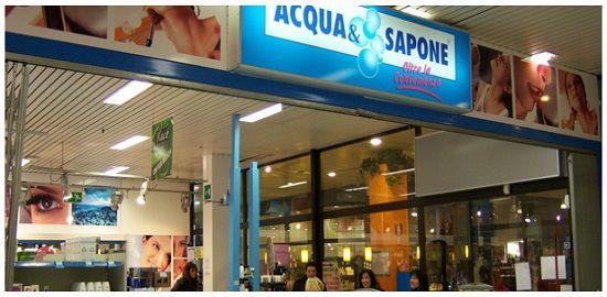 negozio acqua e sapone