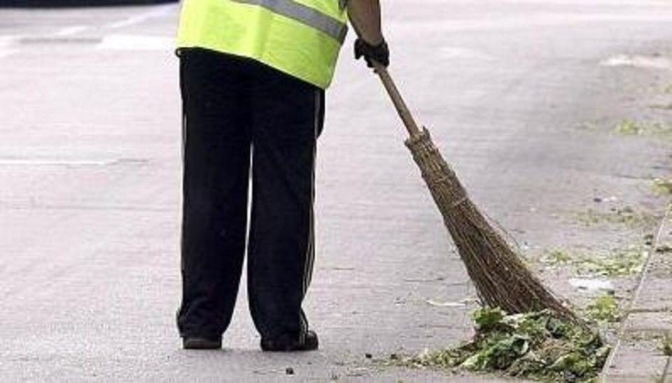 pulire le strade