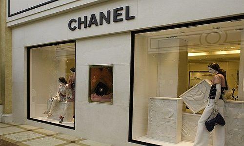 negozio chanel lavoro