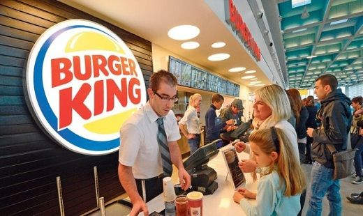 lavoro burger king