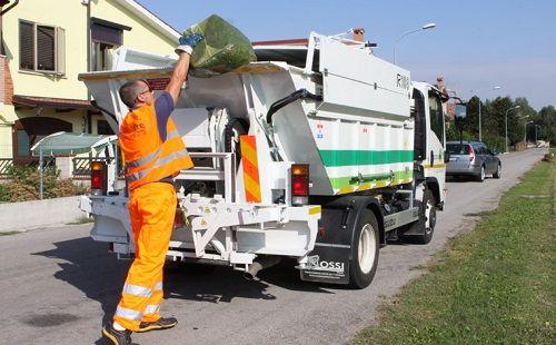 lavoro raccolta rifiuti
