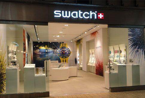 negozio swatch lavoro