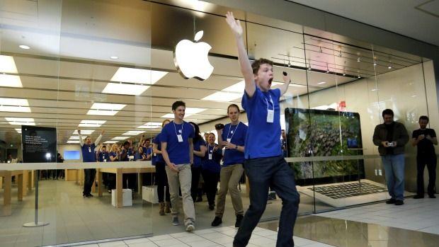 lavoro negozio apple