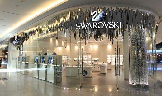 negozio swarovski lavoro