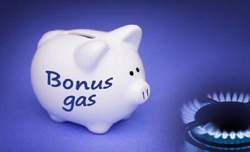 bonus gas luce 2016