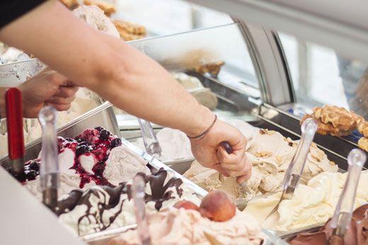 lavoro gelateria
