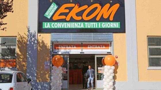 ekom discount lavoro