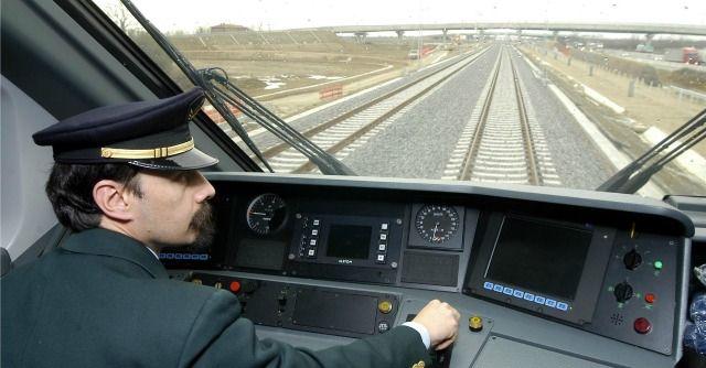 macchinista ferroviario