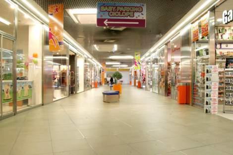 lavoro centro commerciale