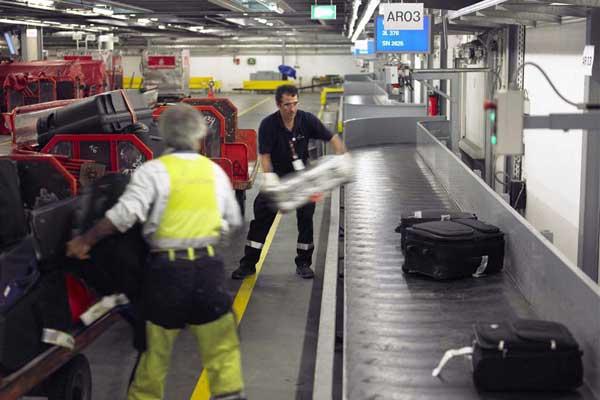 lavoro operatori aeroportuali