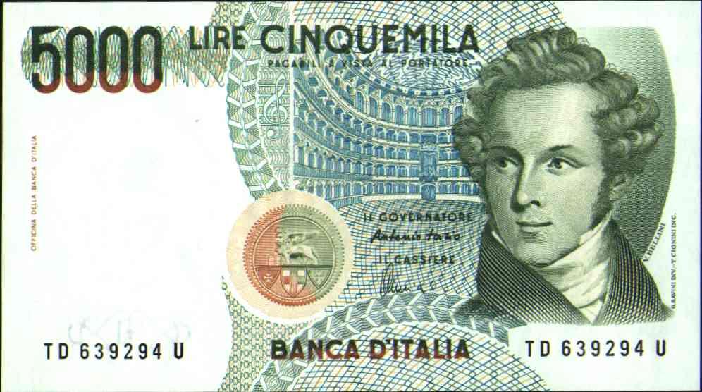 5000 lire