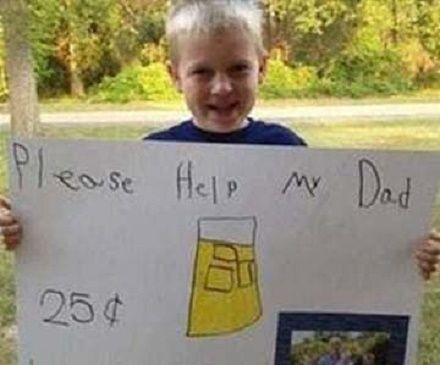 aiutate mio papà