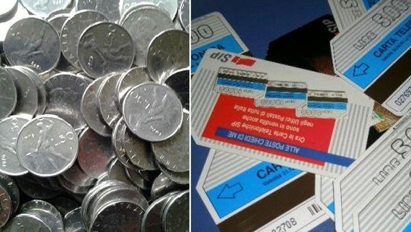 monete lire schede telefoniche