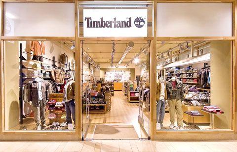 negozio timberland
