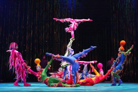 lavoro cirque du soleil