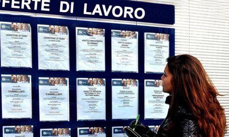 disoccupati in italia