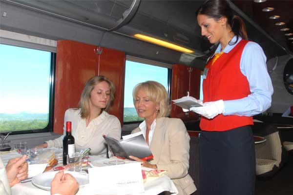 operatori ristorazione treni