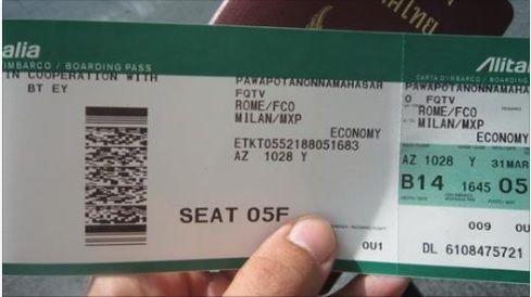 biglietti alitalia gratis