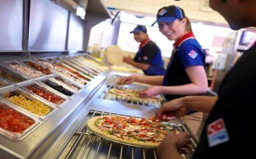 lavoro domino's pizza