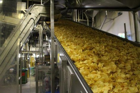 fabbrica patatine pata