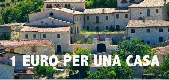 1 euro per una casa