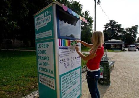raccoglitori plastica sardegna italia