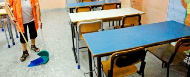 concorso pubblico scuola pulizia aule