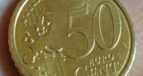 50 centesimi 2007 rari