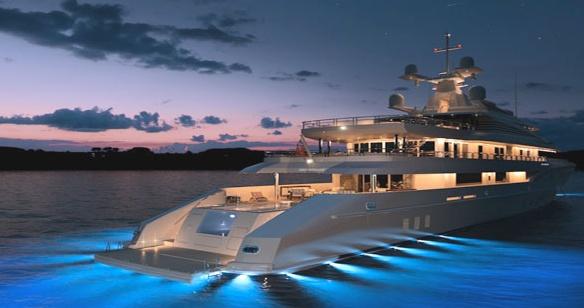 lavoro yacht di lusso